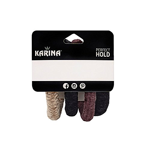 Chenille Assortment - Karina Chenille 4 Piece Hair Elastics