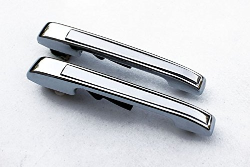 Euro Chrome Rear Door Handles Opener For VW Rabbit Golf MK1 1 MK2 2 Jetta Scirocco