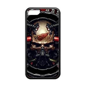 Custom Unique Design NHL Detroit Red Wings Iphone 5C Silicone Case by lolosakes