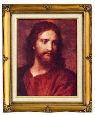 Christ at 33 Framed Art by Discount Catholic Store