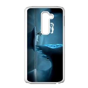 LG G2 Cell Phone Case White Never Alone Kisima Ingitchuna LSO7714697