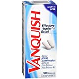 Vanquish Coated Caplets - 100 ct, Pack of 2