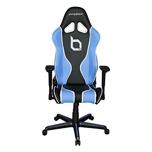 DXRacer Racing Series DOH/RZ177/NBW/OBEY Newedge Edition Racing Bucket Seat Office Chair Gaming Chair Ergonomic Computer Chair eSports Desk Chair Executive Chair Furniture With Pillows by DX Racer