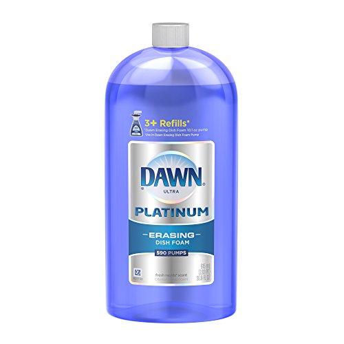 Dawn Platinum Dishwashing Foam Refill, Fresh Rapids, 30.9 Ounce