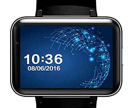 Amazon.com: DM98 Video Call Smart Watch MTK6572 3G ...