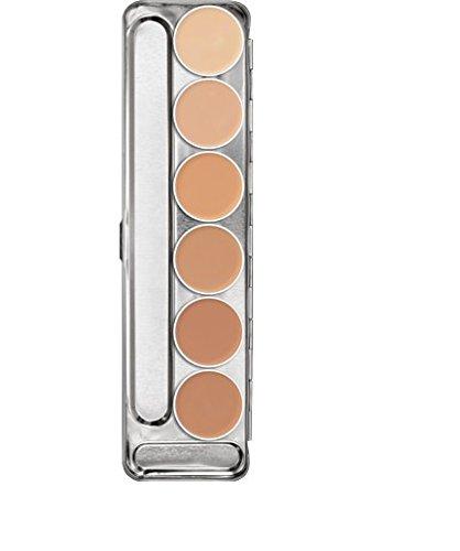 Kryolan Dermacolor Camouflage Creme Palette 6 Colors D 1 W - D 6 W 71007