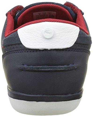 Lacoste Deck-Minimal, Sneaker Uomo Blu (Nvy/Wht)