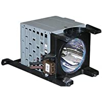Electrified Replacement Lamp with Housing for 72HM196 for Toshiba Televisions -