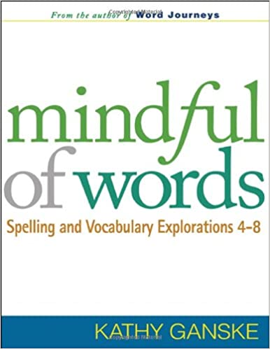 Mindful of Words:  Great tool for Word Study instruction