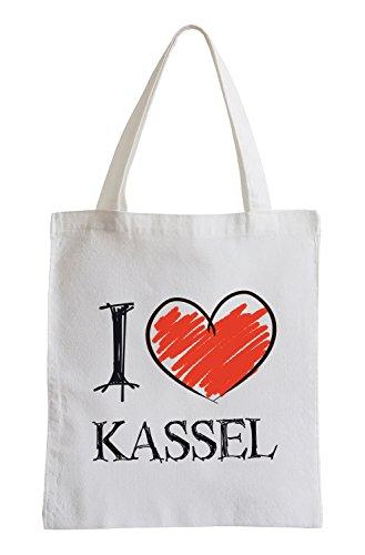 Adoro Kassel Divertimento sacchetto di iuta