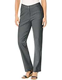 Woman Within Plus Size Petite Classic Fit Chinos