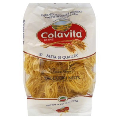 Colavita Tagliolini Nest Pasta, 16-Ounce Boxes (Pack of 10)