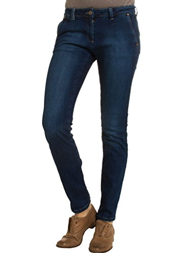 Denim Normale Elasticizzato Donna Vestibilità Tessuto Capri Bassa Look 785 Vita Jeans Per Carrera Modello a6WFUqww