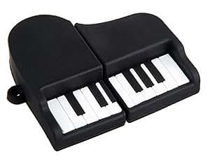 Generic Piano Design 4GB USB Flash Drive (Black)
