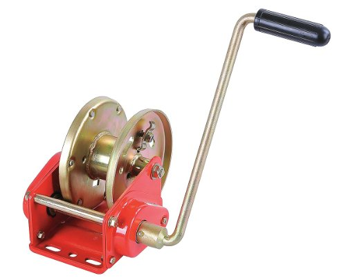 (Dayton 12U380 Manual Winch, Brake, Load Cap 2500 Lb)