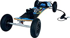 The Atom 95X is the perfect board for entry-level riders wanting to experience all aspects of mountainboarding. Beefy deck, F1 bindings and a completely installed V brake system give this board everything it needs to perform while keeping som...