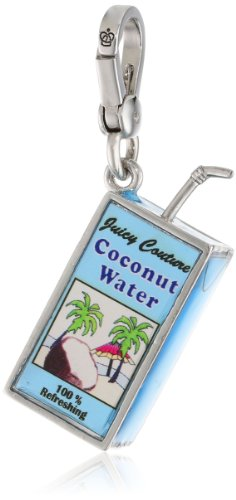 Juicy Couture Jewelry Spring Delivery 3 Charm Necklaces Coconut Water Charm Necklace, 12.7