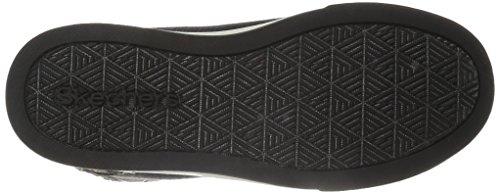Skechers Shoutouts-Zipsters, Zapatillas de Deporte para Niñas Negro (BKRG)