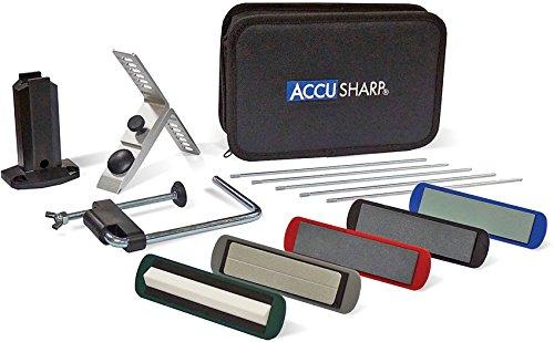 AccuSharp 059C Accusharp 5-Stone Precision Knife Sharpening Kit,