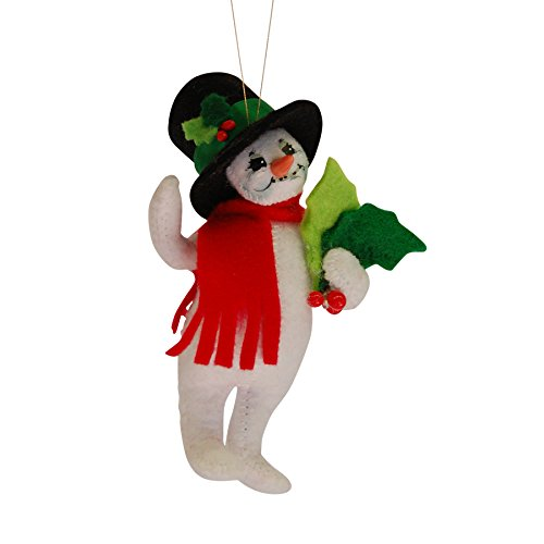 (Annalee - 4in Holly Berry Snowman)