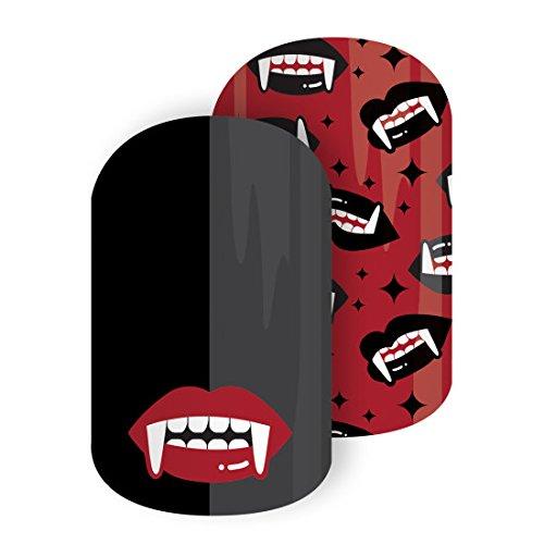 Jamberry Nail Wraps ~ Vamp Queen ~ Half Sheet ~ Halloween Vampire]()