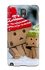Case Cover For Galaxy Note 3 - Retailer Packaging Danbo Protective Case