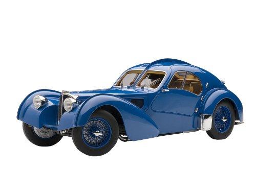 1/18 ブガッティ タイプ57SC アトランティック 1938 ブルー 70942
