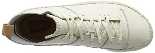 Clarks Originals Trigenic Flex, Zapatillas para Hombre Blanco (White)