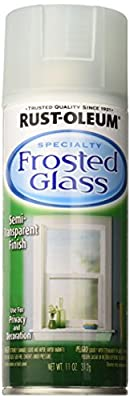 Rust-Oleum 257465 11-Ounce Specialty Spray, Sea Frosted Glass