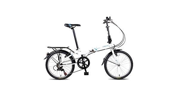 Kehuitong Bicicleta Plegable, Bicicleta portátil para Adultos ...