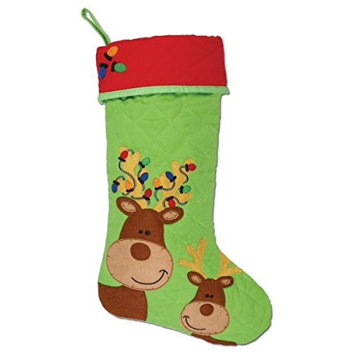 Stephen Joseph Gifts Christmas Stocking, Reindeer