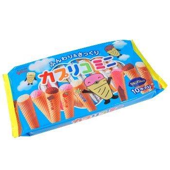Glico Caplico Mini (10 Sticks) (Japanese Ice Sandwich Cream)