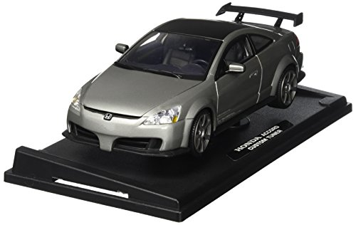 Motormax 1:18 2003 Honda Accord Custom Tuner Vehicle, Grey