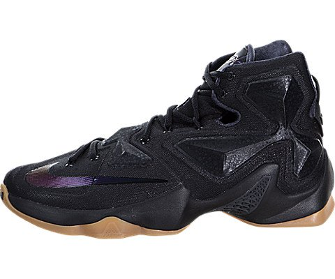 quality design a24f8 f2754 Galleon - Nike Men s Lebron XIII Black Basketball Shoe - 10.5 D(M) US