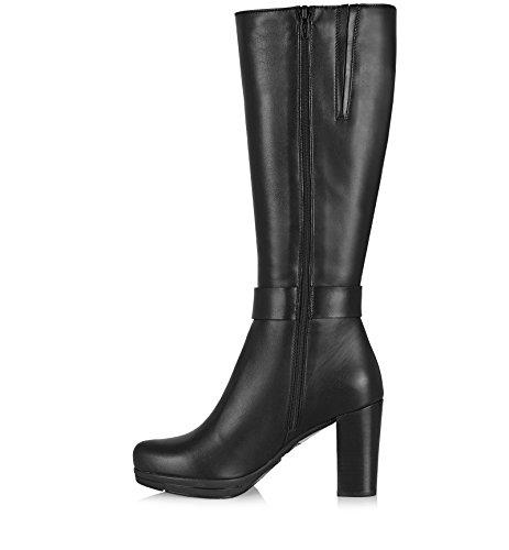La Canadienne Kvinners Misha Mote Boot Sort Skinn