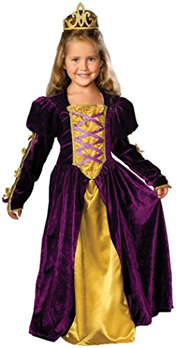 Buy rubie's costume co regal queen child medium