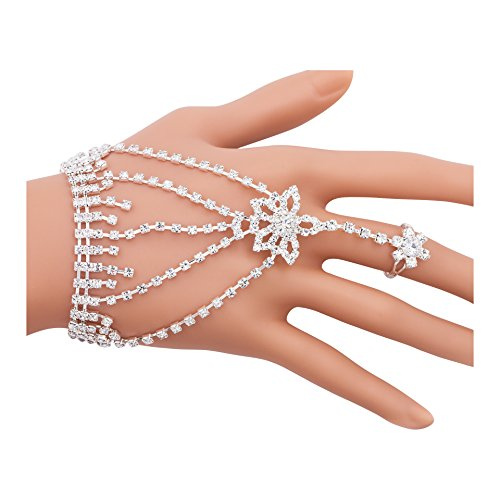 Boosic Crystal Bracelet Harness Wedding