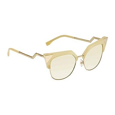 Amazon.com: Gafas de sol Fendi Ff 149 /S 040G Amarillo/Reino ...
