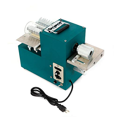 Leather Strip Cutting Machine 110V Electric Leather Splitter Machine Auto Double Use Leather Slitting Machine Shoes Slitter Cutter Speed Adjustable