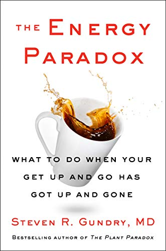 Book Cover: The Energy Paradox: What to Do When Your Get-Up-and-Go Has Got Up and Gone