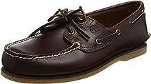 Timberland Men's Classic 2-Eye Boat Shoe, Rootbeer/Brown, 11 M