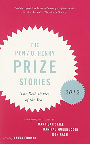 book cover of The O. Henry Prize Stories 2012