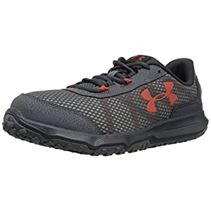 Under Armour Men's Toccoa-4E Running Shoe, Rhino Gray (101)/Anthracite, 11