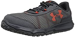 Under Armour Men's Toccoa-4e Running Shoe, Rhino Gray (101)anthracite, 10.5