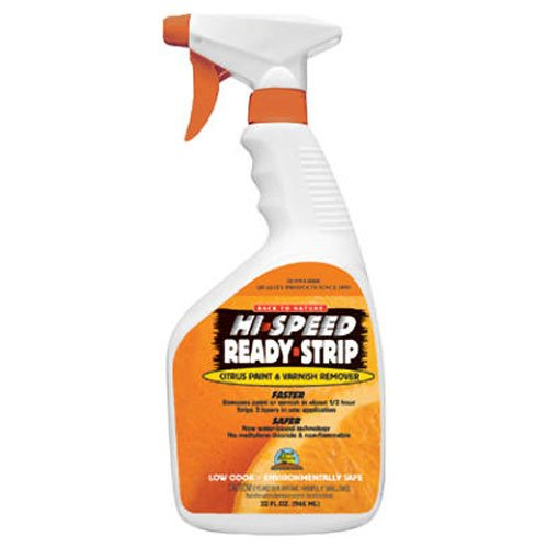 Sunnyside Back to Nature Hi-Speed Ready-Strip Citrus Paint & Varnish Remover, 32 Ounce, 68532 (Ready Strip Remover)