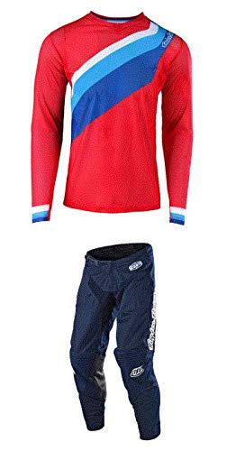 Troy Lee Designs Mens Offroad Motocross Prisma GP Air Jersey XX-Large//Navy
