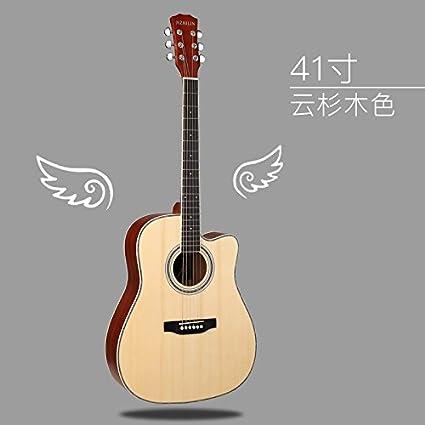 X-XIN - Guitarra para mujer y hombre, 40 pulgadas, 41 pulgadas, de ...