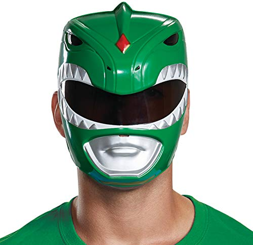 Disguise Men's Green Ranger Adult Mask, One Size ()