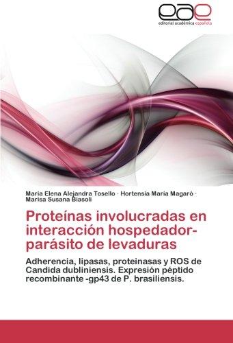 Proteínas involucradas en interacción hospedador-parásito de ...
