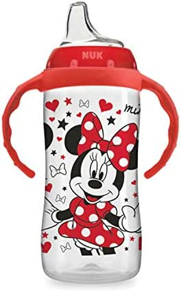 NUK Disney Large Learner Sippy Cup, Minnie Mouse, 10oz 1pk